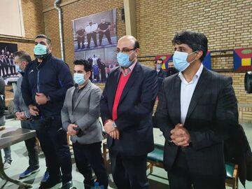 علی نژاد در بازدید از اردوی بوکس: ما روی شما حساب باز کردهایم