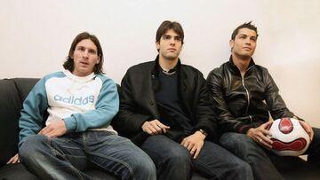 نوستالژی| وقتی کاکا، لیونل مسی و کریستیانو رونالدو را شکست داد