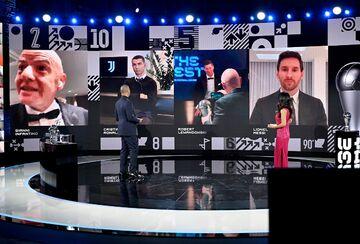 لیونل مسی و کریستیانو رونالدو به چه کسانی رأی دادند؟