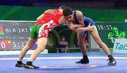 مدال برنز عموزاد با غلبه بر نفر سوم جهان