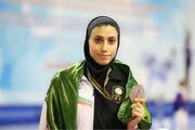 کیمیا علیزاده خیلی زود به جانشینش پس از مهاجرت از ایران تبریک گفت