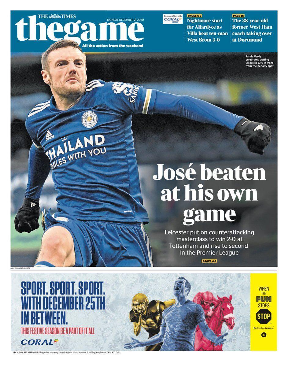 روزنامه تایمز| ژوزه در بازی خودش باخت