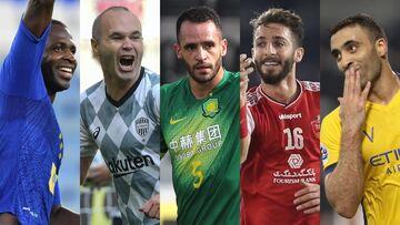 رقابت شیخ دیاباته، مهدی عبدی و آندرس اینیستا برای بهترین گل لیگ قهرمانان