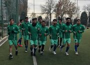ریکاوری ایران در ورزشگاه ملی دوشنبه