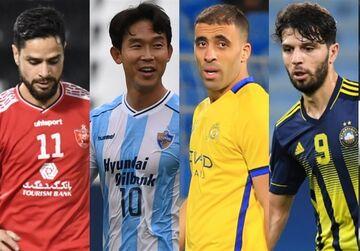 کمال کامیابینیا بهترین پاسور لیگ قهرمانان آسیا در یک سوم پایانی زمین