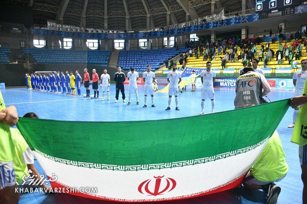 جام ملتهای فوتسال آسیا لغو شد