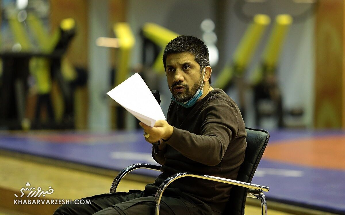 گرد و خاک علیرضا دبیر در اردوی تیم ملی کشتی آزاد