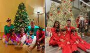 کریسمس پارتی ستارهها با خانواده