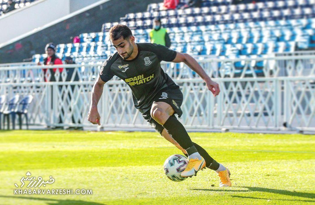 شهاب زاهدی در تیم منتخب نیمفصل لیگ برتر اوکراین