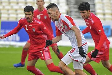 بازی تیم ملی جوانان با تاجیکستان برنده نداشت