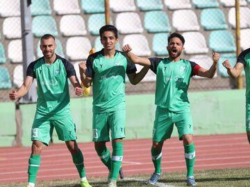 گزارش تصویری| پیروزی شیرین خیبر خرمآباد مقابل آرمان گهر