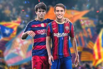 بارسلونا سرانجام به اریک گارسیا رسید