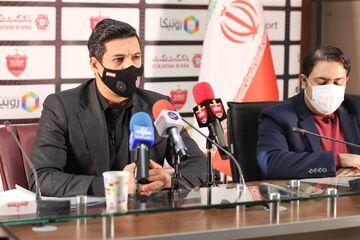گزارش تصویری| نشست خبری ابراهیم شکوری معاون اجرایی باشگاه پرسپولیس