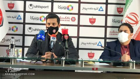 نشست خبری ابراهیم شکوری معاون اجرایی باشگاه پرسپولیس