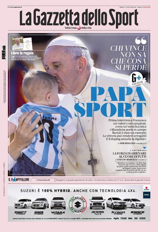 روزنامه گاتزتا  پدر ورزش