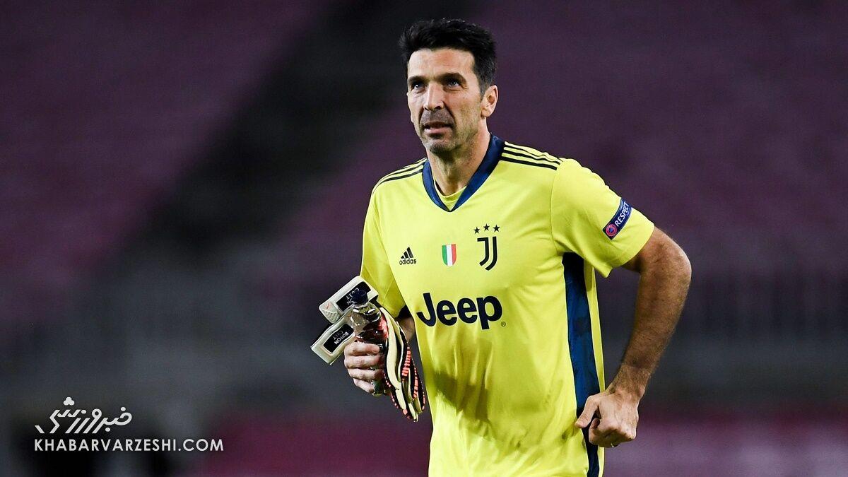 عکس| جانلوئیجی بوفون، بهترین گلر تاریخ فوتبال شد