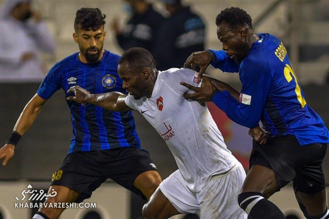 رامین رضاییان در تیم منتخب هفته دوازدهم لیگ ستارگان قطر