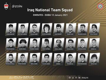 بشار رسن از  تیم ملی عراق خط خورد