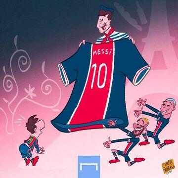 کارتون| مائوریسیو پوچتینو بهدنبال جذب لیونل مسی