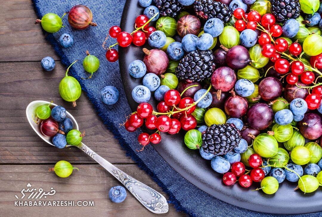 خوراکیهایی که سرشار از آنتی اکسیدان هستند