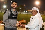 عکس| تشکر باشگاه قطر اسسی از علی کریمی به سه زبان