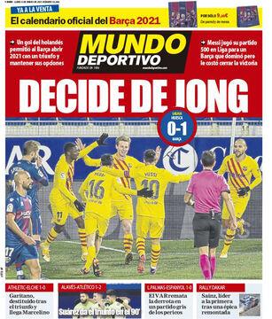 روزنامه موندو| دییونگ قاطع