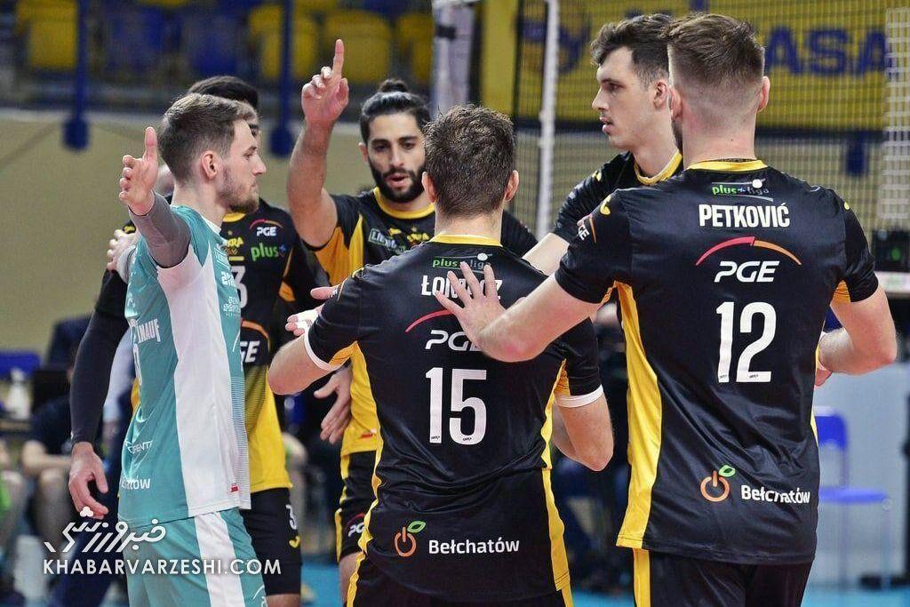 درخشش میلاد عبادیپور در لیگ والیبال لهستان