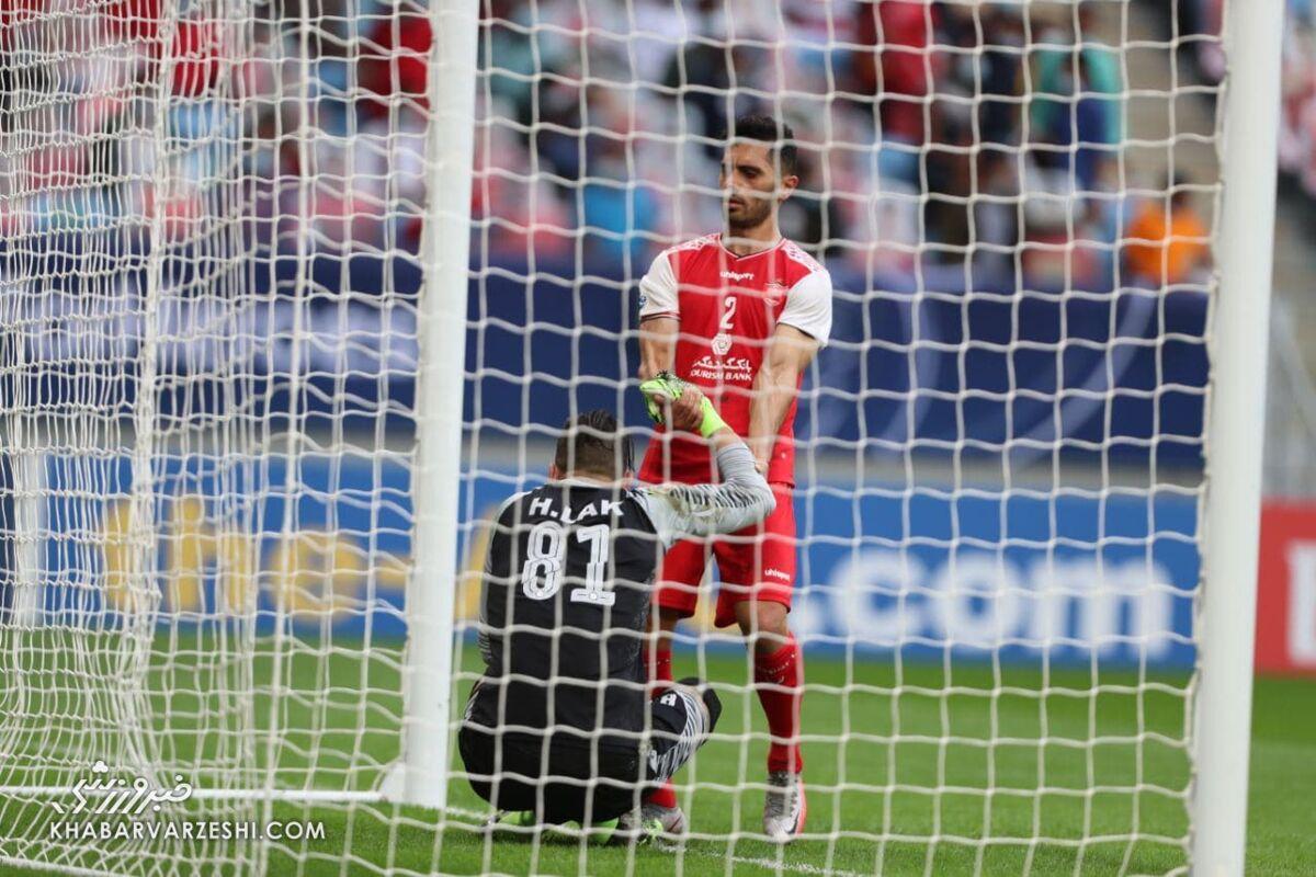 امید عالیشاه و حامد لک (پرسپولیس - اولسان هیوندای؛ فینال لیگ قهرمانان آسیا 2020)