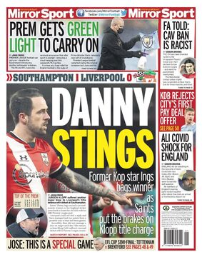 روزنامه میرر| دنی نیش میزند