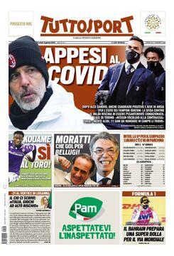 روزنامه توتو| معلق در کووید
