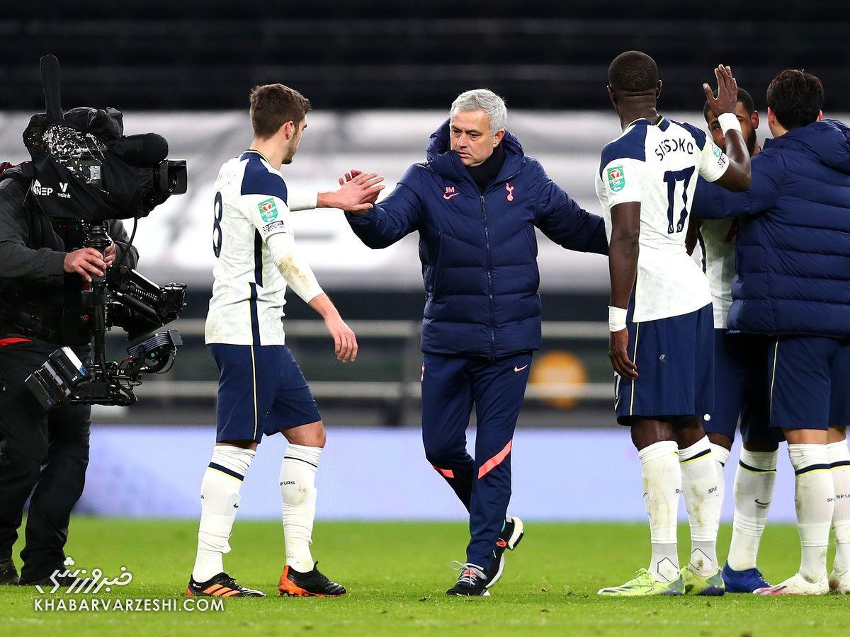 ژوزه مورینیو: فینال در جیب تیم من است