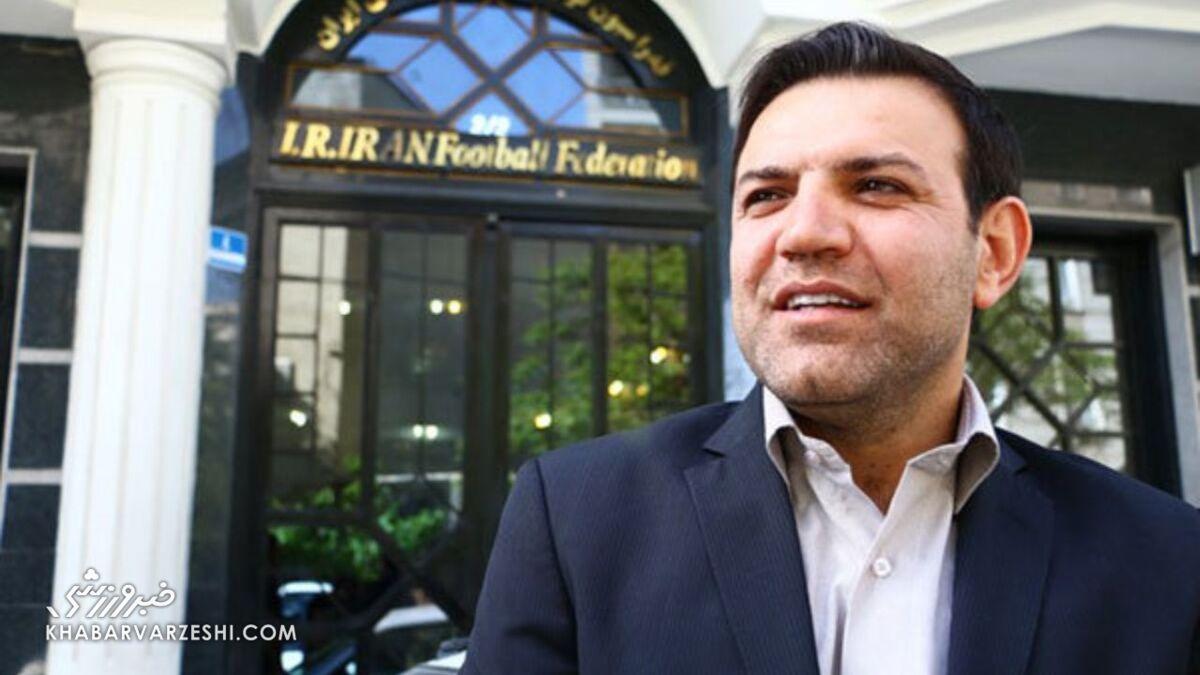 عزیزی خادم برای ریاست فدراسیون فوتبال ثبت نام کرد
