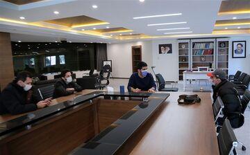 بررسی برنامههای کشتی فرنگی در دفتر رئیس فدراسیون