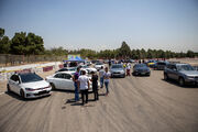 اسامی نفرات برتر مسابقه اتومبیلرانی سرعت دستجات آزاد