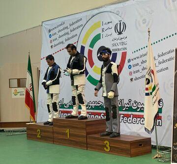 ویدیو| فینال هفته اول و دوم لیگ برتر تفنگ بادی آقایان