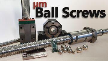 انواع بلبرینگ و بال اسکرو Ball screw