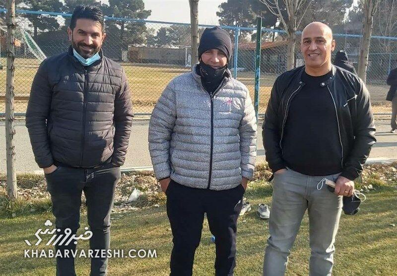 عکس| دیدار علیرضا منصوریان و امیر قلعهنویی