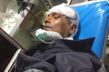 عکس| تصادف شدید بختیاری زاده در ماهشهر