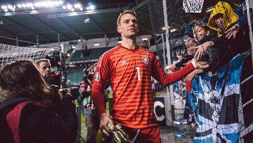 مانوئل نویر بهترین بازیکن سال تیم ملی آلمان شد