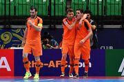 رقابت نماینده ایران با بارسلونا، اسپورتینگ و کورینتیانس