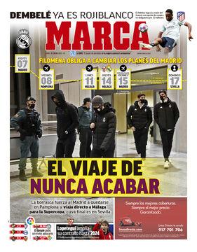 روزنامه مارکا| در سفر بیپایان