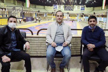 احسان لشگری در اردوی تیم ملی کشتی آزاد