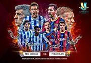 رئالسوسیداد – بارسلونا؛ تشنه یک جام