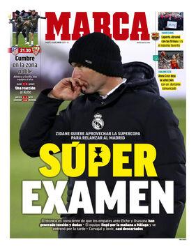 روزنامه مارکا| سوپرامتحان