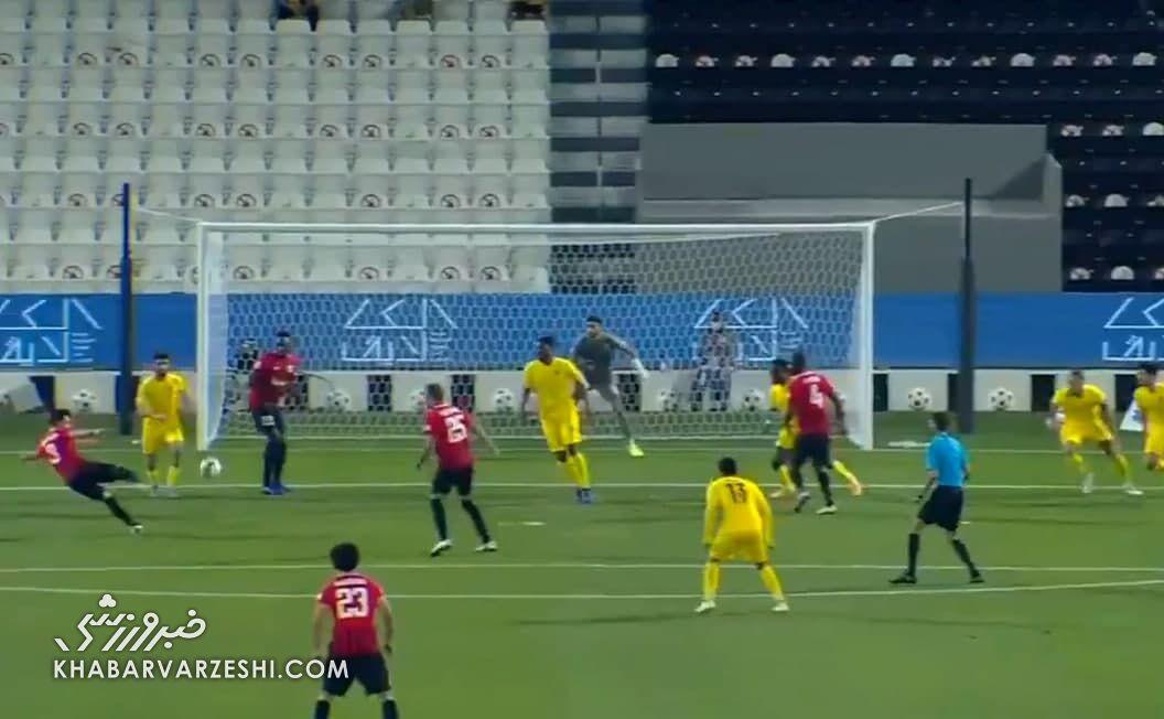 عکس| شجاع خلیلزاده در تیم منتخب هفته لیگ ستارگان قطر