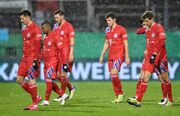 حذف ناباورانه بایرن از جام حذفی