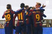 ویدیو| خلاصه بازی رئال سوسیداد ۱ (۲)-(۳) ۱ بارسلونا