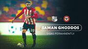 قرارداد سامان قدوس با تیم انگلیسی دائمی شد