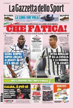 روزنامه گاتزتا| چه مبارزهای!