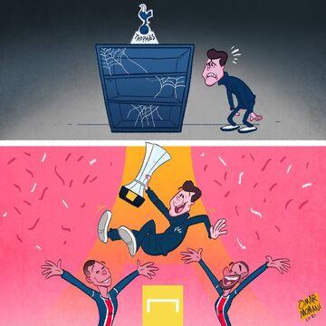 کارتون| مائوریسیو پوچتینو کامیاب شد